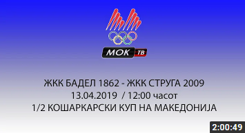 ЖКК БАДЕЛ 1862 – ЖКК СТРУГА 2009