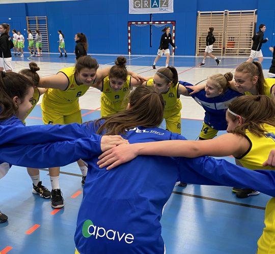 Баделки слават во Грац – Австрија, WABA U17, Сезона 2019/2020